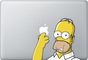 Homer Simpson MacBook Decal
